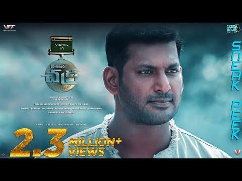 Vishal's Chakra Telugu dialogue promo