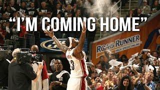 "LeBron James - ""I'm Coming Home"" ᴴᴰ"
