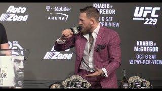 Conor McGregor Explodes Asking If Khabib Is Disrespecting Vladimir Putin? (UFC 229)