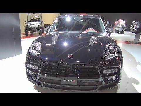 Porsche Macan S Diesel Mansory Sport (2016) Exterior and Interior in 3D