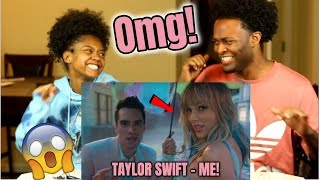 Taylor Swift - ME! (feat. Brendon Urie of Panic! At The Disco) ft. Brendon Urie (REACTION)