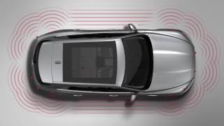 Jaguar F-PACE 17MY | InControl Touch Pro – Sistemi di sensori di parcheggio