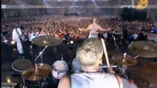 Rammstein - Ich Will (live at the european music awards 2001 in Frankfurt)