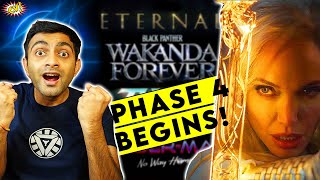Marvel Phase 4 Trailer Explained || ETERNALS Teaser Breakdown || ComicVerse