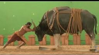 Making of Bahubali VFX graphics and green room.