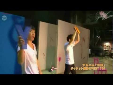 [HD][ENG] TVXQ Yunho Cheering for JYJ ?!