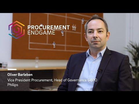 Oliver Barleben (Philips) on The Procurement Endgame