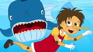 Pinnochio bedtime story for children   Pinnochio Songs for Kids