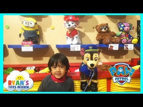 Paw Patrol Toys Build A Bear Workshop with Ryan ToysReview