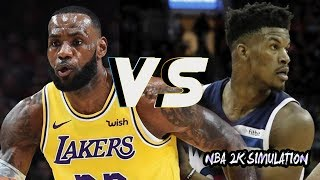 Los Angeles Lakers vs Minnesota Timberwolves - Full Game | Nov 7, 2018 | NBA 2k19