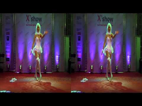 Moscow X-SHOW in 3D STEREO. Part 01.