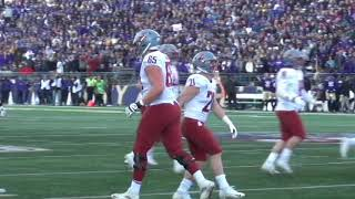 2019 Apple Cup Highlights- Wsu at UW