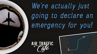 O'Hare ATC Live Engine Failure - ATC Declares Emergency for 747 Giant 551 Heavy