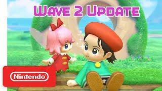 Kirby Star Allies: Wave 2 Update - Adeleine & Ribbon - Nintendo Switch