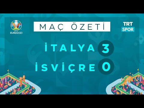 EURO 2020 | İtalya – İsviçre (Özet) | Locatelli'den müthiş performans