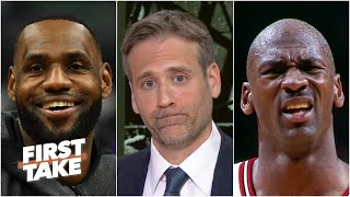 Does LeBron pass Michael Jordan if he wins this year's title? | First Take