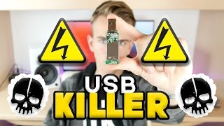 Come funziona la USB Killer?