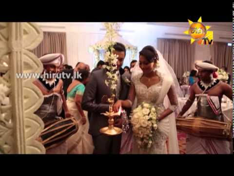Hiru Tv - Mangalam - Shashini & Dhananjaya Wedding - 06th April 2014