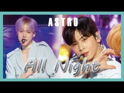 [HOT] ASTRO -  All Night  , 아스트로 - 전화해 Show Music core 20190202