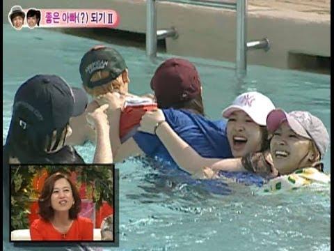 【TVPP】f(x) - Swimming with f(x), 에프엑스 - 쿤아빠와 f(x)의 물놀이 @ We Got Married