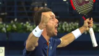 2018 ATP Final Highlights: Bautista Agut Claims Dubai Crown