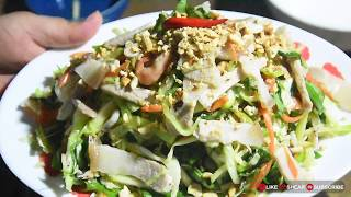 June Plum Salad with Pork | របៀបញ៉ាំក្តឹបម្កាក់ជាមួយសាច់ជ្រូក - មេផ្ទះ (Housewife)