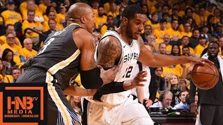 Golden State Warriors vs San Antonio Spurs Full Game Highlights / Game 2 / 2018 NBA Playoffs