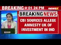 CBI sources alleged Amnesty International (UK) of investment in India | NewsX  - 00:55 min - News - Video