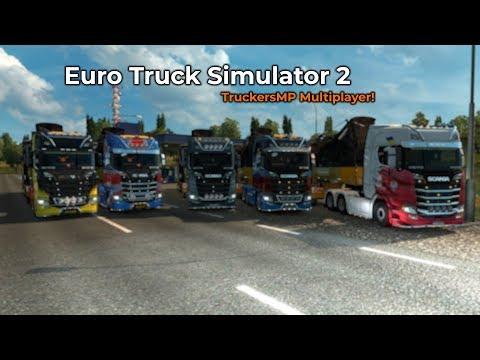 Euro Truck Simulator 2  TruckersMP Livestream 10032018