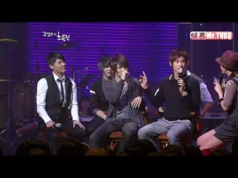 081002 SBS Kim Jung-eun's Chocolate - TVXQ