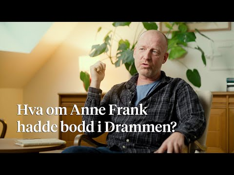 Kristian Klausen har flyttet Anne Frank til Drammen