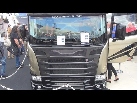 Scania Chimera 2190 hp Truck Exterior and Interior in 3D