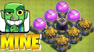 """WHAT'S THE MOST YOU! CAN STEAL??? """"Clash Of Clans"""" GOBLIN GAMES!!"""