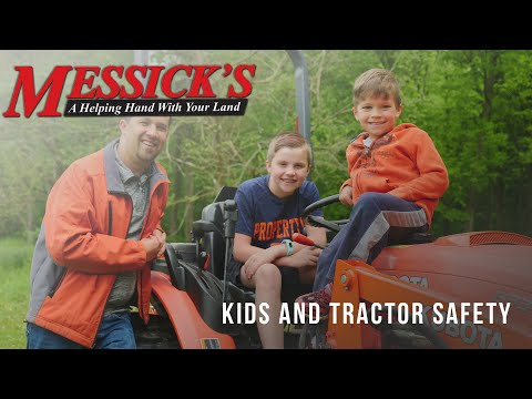 Kids and Tractor Safety Picture