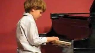 Zachary's 1st Recital: Spring 2007, Bugel Boy