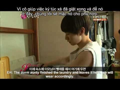 [Vietsub] Eunhyuk introduce his room.avi