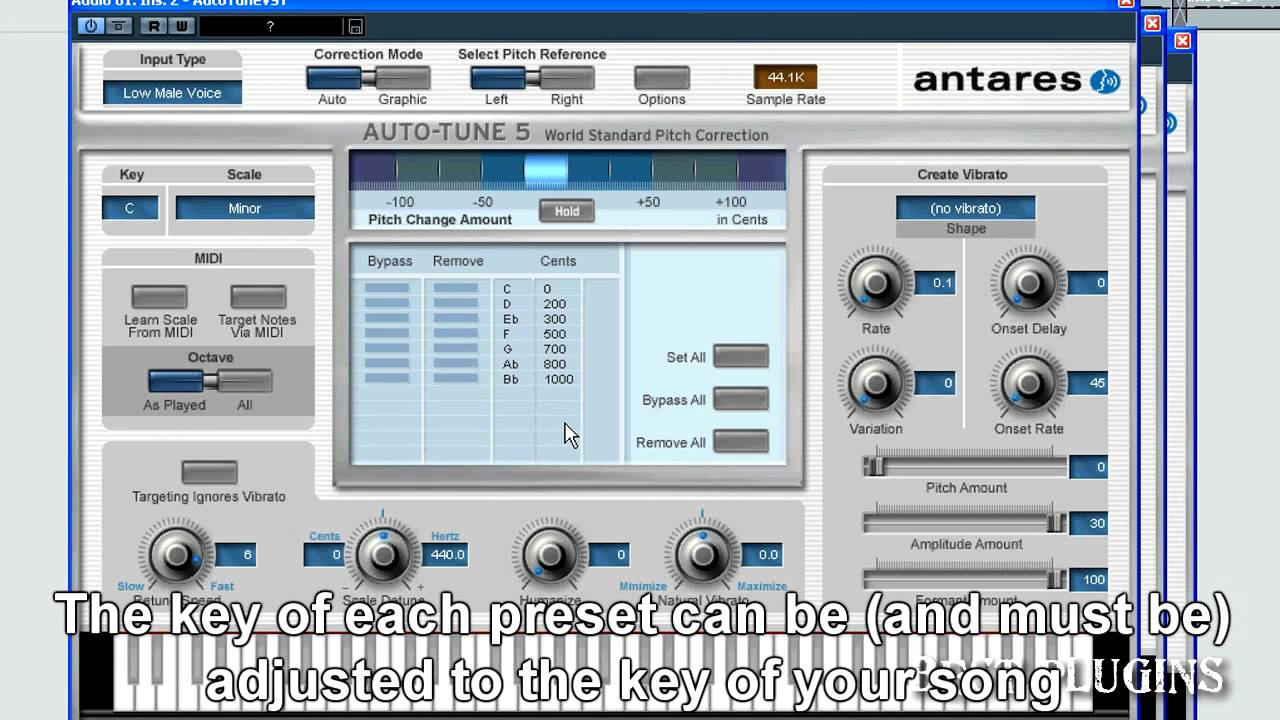 The T-Pain Effect AUTO TUNE Plugin VST Effect ONLY windows only