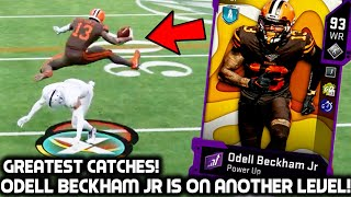 ODELL BECKHAM JR IS ON ANOTHER LEVEL! MUST SEE CATCHES! Madden 20 Ultimate Team
