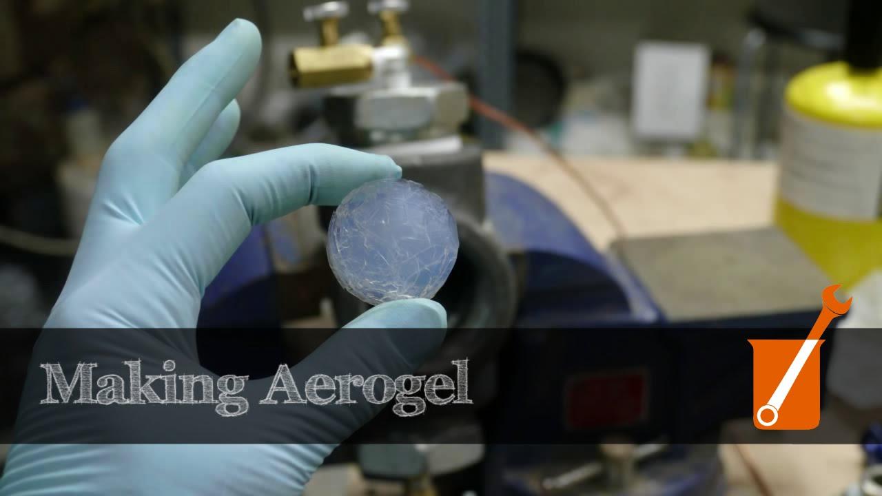 Making Silica Aerogel At Home Youtube