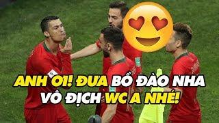 Bình luận World Cup 2018 | Ronaldo - Ngọn lửa 33 tuổi soi sáng giấc mơ WC của Bồ Đào Nha