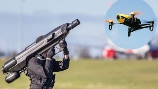 4 WAYS TO TAKE DOWN ILLEGAL DRONES