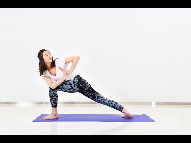 內臟下垂害你經痛頻尿腰背痠!扭腰弓箭步重整內臟