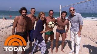 Join Matt Lauer And Hoda Kotb On Rio's Famous Beaches   TODAY