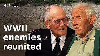 WWII enemies reunited in D-Day anniversary