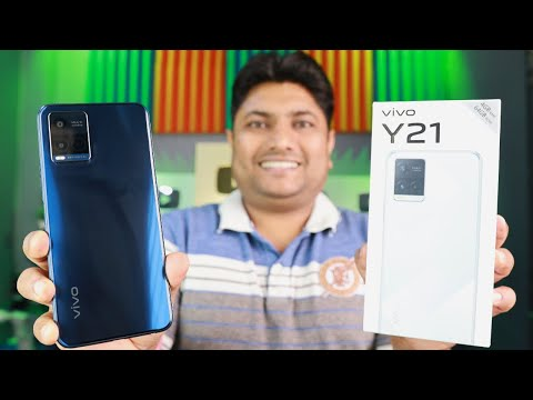 Vivo Y21 Unboxing & Quick Review ⚡⚡ Vivo Y21 Camera Quality, Gaming Test & Many More
