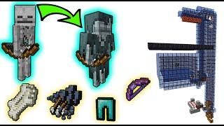 Perfect 1.17 Skeleton Spawner Auto Farm! (bones, ench armor, bows) | Minecraft