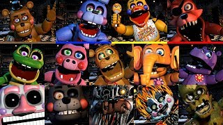 Ultimate Custom Night Jumpscares: All FNaF 6 Animatronics