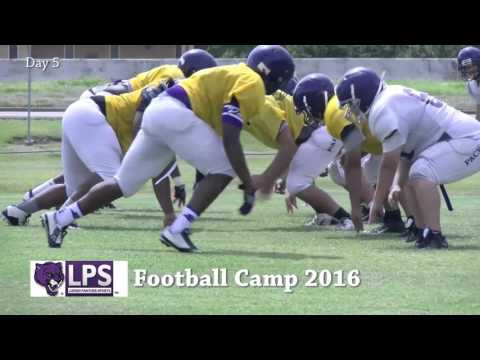 2016 Lufkin Panther Football Camp Day 5