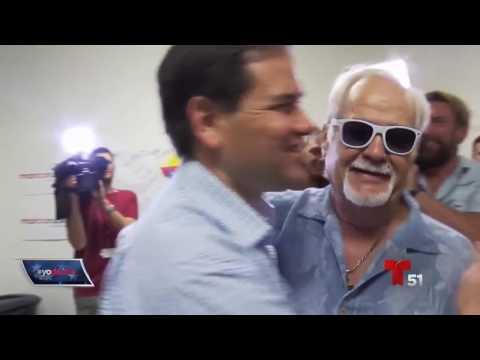 Marco Rubio lucha por cada voto en la Primaria.