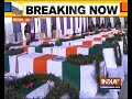 Mortal remains of jawans martyred in Pulwama attack at CRPF camp in Budgam